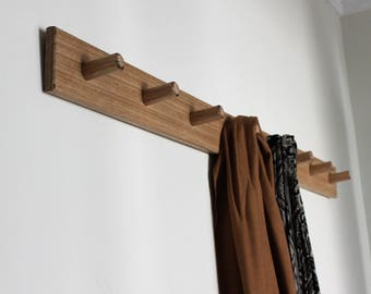 Coat Rack - Coat Rack Wall Mount Wall - Coat Hooks - Rustic Home Decor - Storage - Coat  Hook - Housewarming Gift - Australia