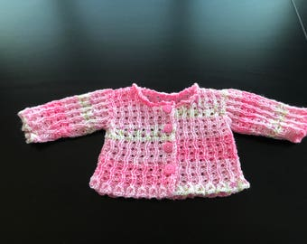 Girls hand knitted sweater