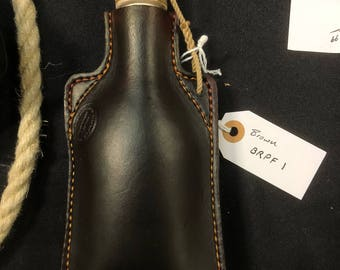 Leather Flask 5/6 ounces