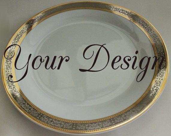 & Personalized / Customized New Gold / Silver Skull Dishes