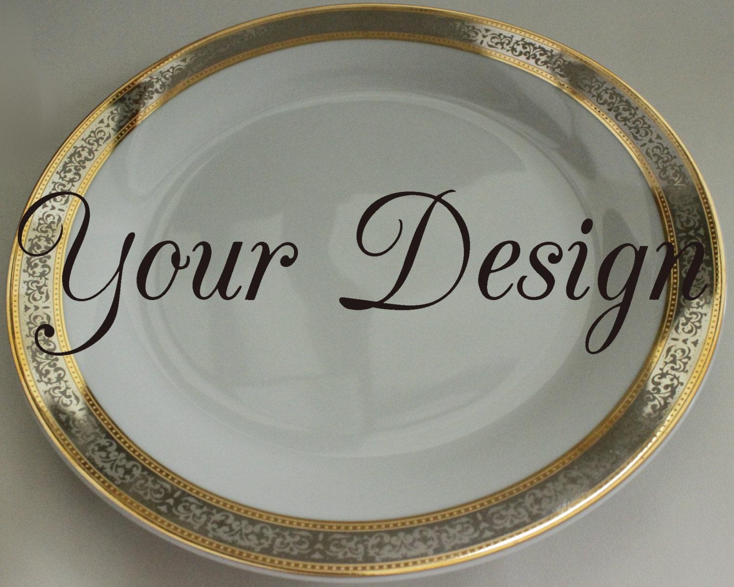 Request a custom order and have something made just for you. & Personalized / Customized New Gold / Silver Skull Dishes