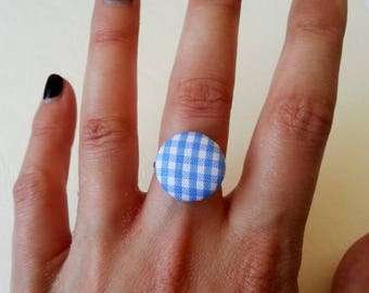 Ring round in gingham blue ♥ ♥