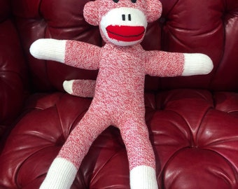 Red Heal Red Sock Monkey