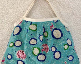 SALE! Reversible Shopper Bag  - cotton / linen