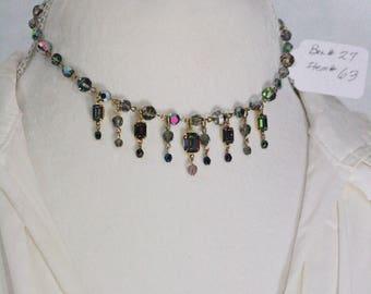 kirks Folly Rhinestone Choker Necklace