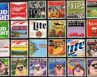 Beer Coasters ~ Ceramic Tile with Cork Backing ~ Your Choice of Four