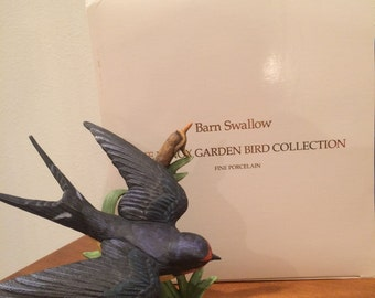 Vintage Lenox porcelain barnswallow