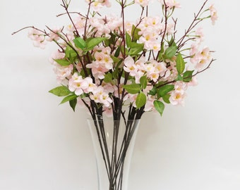 Pink Blossoms flower centrepiece for wedding centerpiece or home decor without vase
