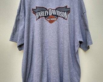 Harley Davidson New Orleans , Louisiana Big Size  Shirt