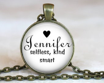 What's in a Name..Personalized Definition Pendant, Necklace or Key Ring