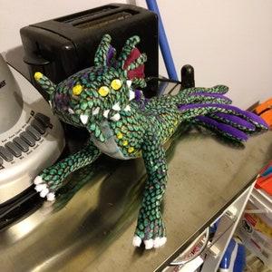 Sea Dragon Leviathan Plushie