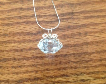 Self collected Herkimer Diamond necklace