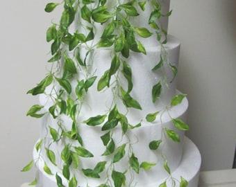 Wedding Cake Decorations, Cake Vine Decorations, Wedding Cake Topper Decorations, Vines for Layered Wedding Cake
