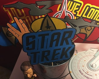 Star Trek Inspired Photo Booth Props - TOS The Original Series