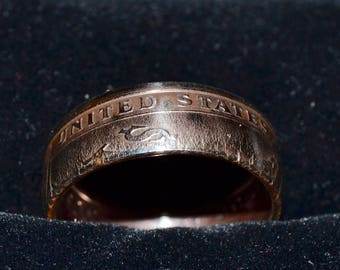 CUSTOM One Dollar Coin Rings