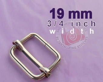 5 Pieces Wire-Formed Slides - 3/4 inch / 19 mm (CHOOSE YOUR FINISH: nickel, and antique brass finish)