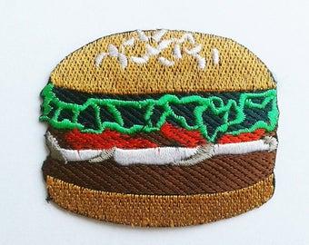 Hamburger cute patch.