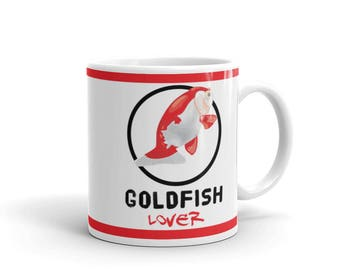 Aquarium Fish Lover Mug - Goldfish Lover Mug - Coffee Drink Mug