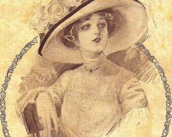 Antique Advertisement, Antique Catalog, Greenhut-Siegel Cooper Co 1911 Spring & Summer Cover,  Book Page, Digital Copy for Scrapbooking