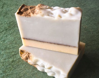 NEW Morning Organic Soap •  Handcrafted Soap with All Natural & Organic Ingredients, Fresh Lime Citrus Scent, Mothers Day Gift