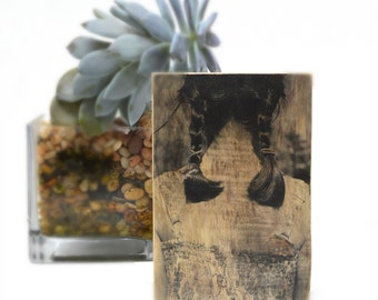 Reclaimed Wood Wall Art, Personalized Custom Wood Photo gift Photo on Wood Wooden photograph. 5th Anniversary Gift. Wood Photo Transfer.