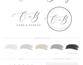 Boutique Logo, Photographer Logo, Interior Designer Logo, Makeup Artist Logo, Signature Logo, Wedding Planner Logo