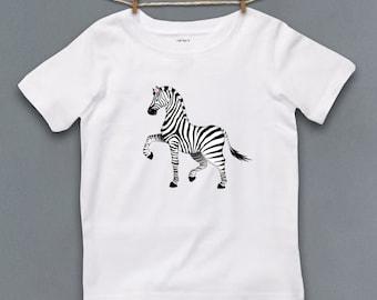 Cute Kids Clothes, Cute Toddler Clothes, Unique Kids Clothes, Kids Shirt, Kids Clothes, Zebra, Zoo Animal, Gift