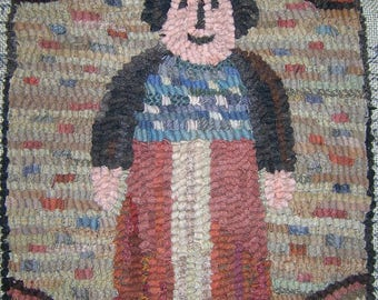Little Lady Liberty Rug