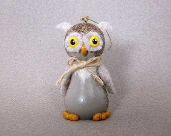 Halloween Owl Ornament