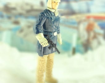 Han Solo In Hoth Outfit Action Figure 1983 The Empire Strikes Back