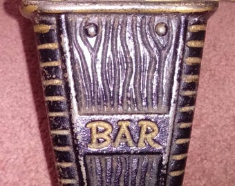 Cast Iron Bar condiment holder