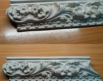 Silicone Rubber For Gypsum Cornice,  mould for making plaster decor Versailles mold For Cornice Tile mold Yals