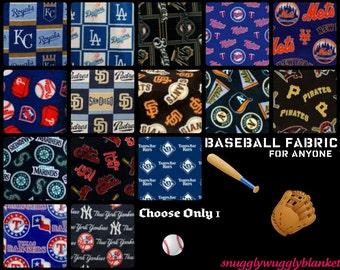 Handmade Fleece hand tied Blanket- Blanket for Adults- Men and Women Baseball Teams- Black Friday/Cyber Monday SALE!!!