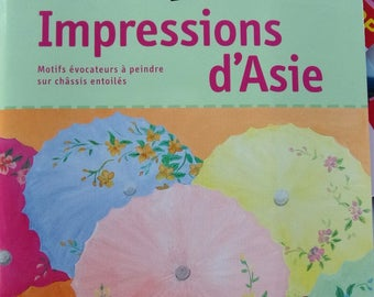 Book CREATIONS IMPRESSIONS of Asian painting on chassis venture