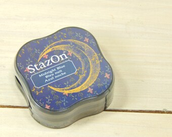 StazOn Midi Midnight Blue