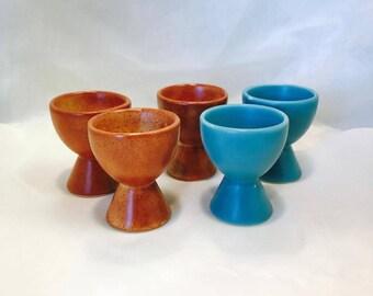 Vintage Egg Holders - Set of 5