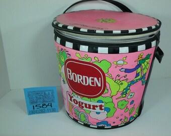 1970's Borden/Peter Max Yogurt Carry Case