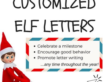 Customized Elf Letters