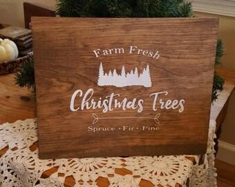 Christmas Tree Farm Sign
