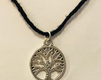 Tree of Life necklace, lucky tree, charm, nature lover