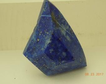 Lapis Lazuli Dark Blue Gemstone Afganistan