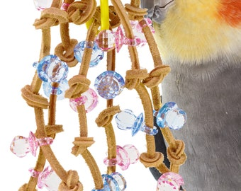 1571 Chain Spyder Bird Toy