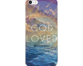 For God so Loved iPhone (5-X) Case