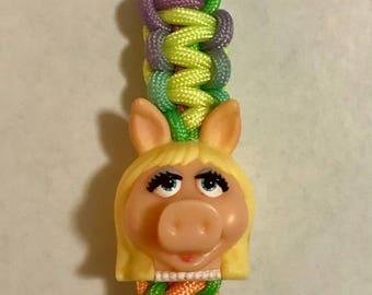 Miss Piggy key chain