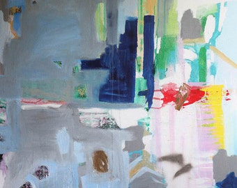 Abstract Painting Original Abstract Art Modern Contemporary Acrylic Painting on Canvas