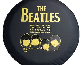SpareCover Brawny Series - The Beatles Tire Cover