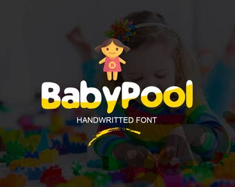 BabyPool New Font : New Typeface