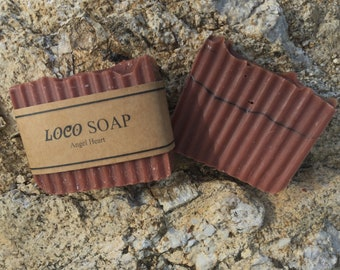 Angel Heart-  Handmade Cold Processed Soap