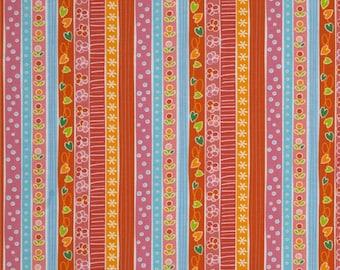 Sweet Dreams Orange: Quiet Time by Tamara Kate - 1 Yard Cut