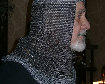 Chain Mail Coif - 4